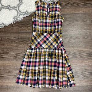 Brooks Brothers Madras Dress Size 6